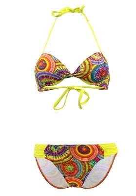 Maillot de bain Enfant Lolita Angels 2 Pièces Balconnet Playa Link Sunny Multicolore - Couleurs - MULTICOLORE