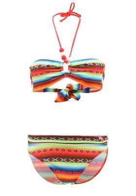 Maillot de bain Enfant Lolita Angels 2 Pièces Bandeau Rio Pearl Acapulco Psycho Multicolore - Couleurs - MULTICOLORE