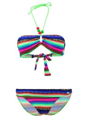 Maillot de bain Enfant Lolita Angels 2 Pièces Bandeau Rio Pearl Acapulco Smile Multicolore - Couleurs - MULTICOLORE
