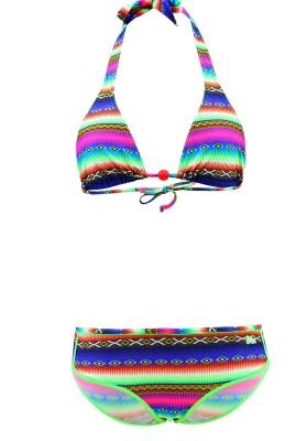 Maillot de bain Enfant Lolita Angels 2 Pièces Triangle Shorty Brett Acapulco Smile Multicolore - Couleurs - MULTICOLORE