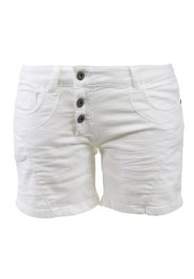 Short Femme Watts Puulp Jogg Jeans Blanc - Couleurs - BLANC