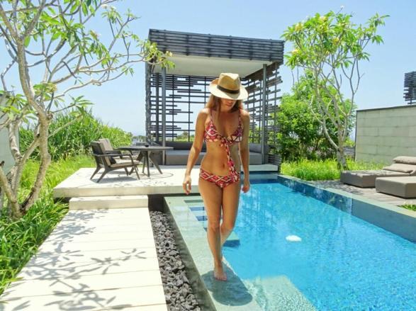 Somedays Lovin Marsala Aztec Wrap Bikini