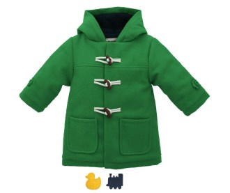 Cololo Green Duffle Coat