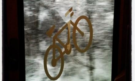 Il neige… et alors? Bike & train rules!