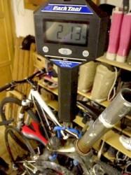 Projet: alléger le vélo du gamin