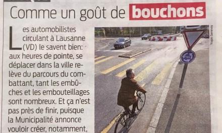 Les bouchons: à cause des cyclistes, évidemment
