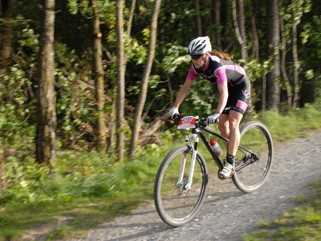 Leuker Bike Challenge: le VTT résiste dans le bois de Finges