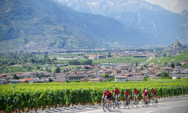 1er août: plus de 1000 cyclos à travers le vignoble valaisan
