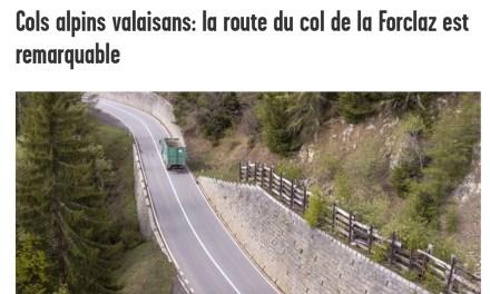 Cols alpins valaisans: la route du col de la Forclaz est remarquable…