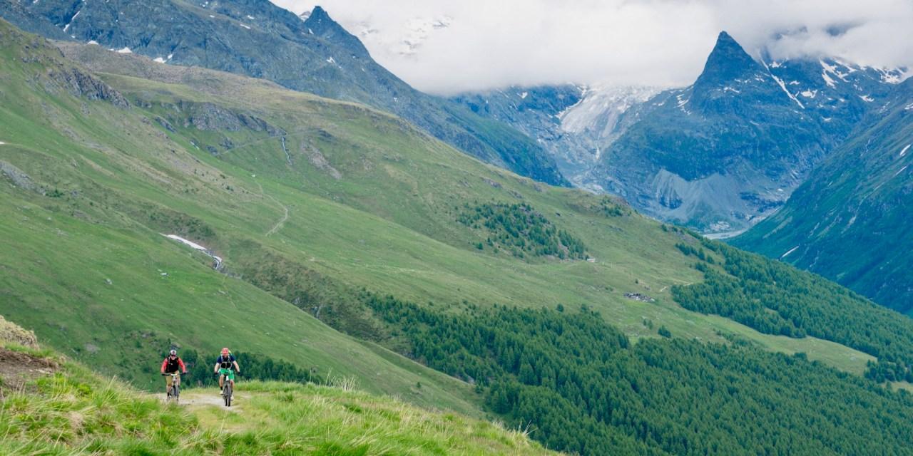 En e-bike de Verbier à Zermatt, sans forcer, ou presque…