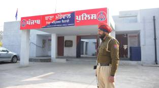Bikram Singh Majithia inaugurating state-of-the-art building of Mattewal Police Station (1)
