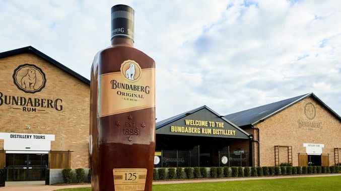 The Big Rum Bottle, Bundaberg QLG
