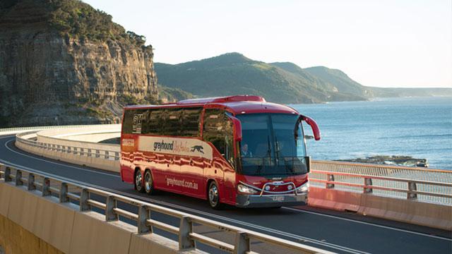 Australien rundt med bus