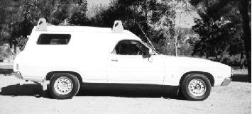 Ford Falcon XC Panelvan