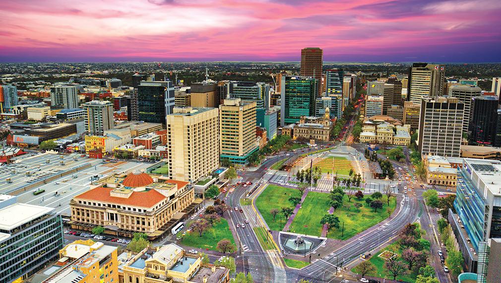 Info om Adelaide