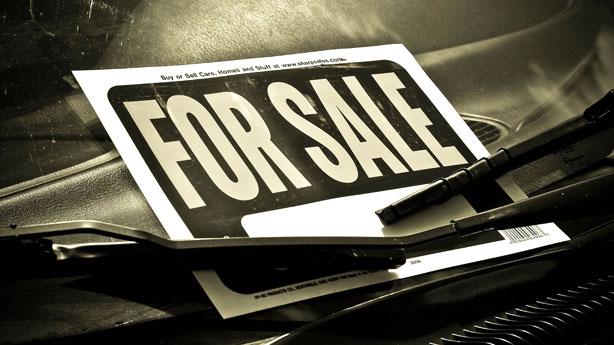 Når bilen skal sælges igen