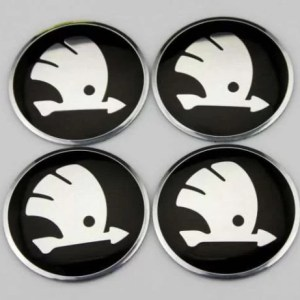 skoda hjulnav emblem