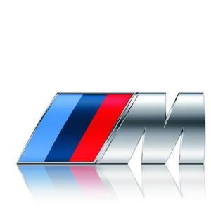 BMW M LOGO EMBLEM