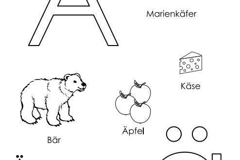 تدريب الأطفال على الحروف الألمانية كتابة pdf2