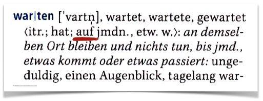 الأفعال الألمانية مع حروف الجر1