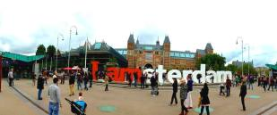 2:45PM: Made it to the I AMSTERDAM sign! Had to fight (not literally haha) our way to pose with the I and the am because of the many feisty tourists!