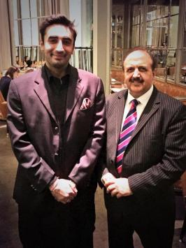 Bilawal with Lord Hussain
