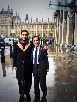 bilawal with MP REHMAN CHISHTI