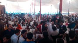 @gabeeno Workers convention on #PPPFoundationDay in Lahore Jiyay PPP1