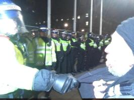 @sara_firth Some Surreal Moments, Some Tense Moments, Fireworks & A Huge Turnout - #London's #MillionMaskMarch 2014 in summary3