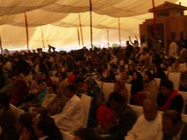 @TahirKhattak7 Pandaal was full of Jiyalas on Foundation Day of PPP Bcoz they never miss any party event. @BBhuttoZardari