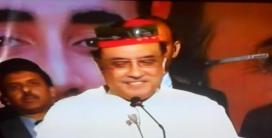 @faridmemonpsf This smile has resolved many issues of #Pakistan Co-chairman @AAliZardari addressing workers #PPPFoundationDay