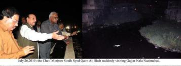 @waqas_yousif CM Sindh QAM visited different areas