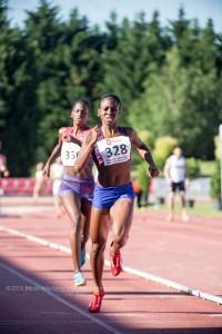 ROSE MARY ALMANZA, ganadora del 800m, Reunión Internacional Villa de Bilbao