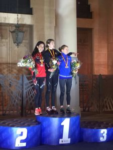 Elena Loyo campeonato de España de Medio Maraton