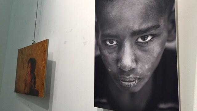 Exposición fotográfica de la ONG Abay sobre Etiopía en el Casco Viejo