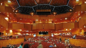 Vista interior de la sala principal del Palacio Euskalduna de Bilbao. FOTO: Wikipedia