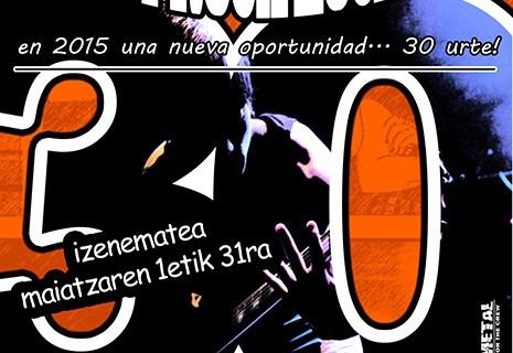 Abierto el plazo de inscripción para la XXX Muestra de Pop-Rock local de Aste Nagusia