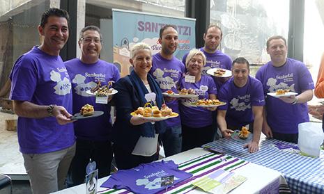 """Una treintena de hosteleros participan en """"Santurtzi de pintxos"""" en el mes de mayo"""