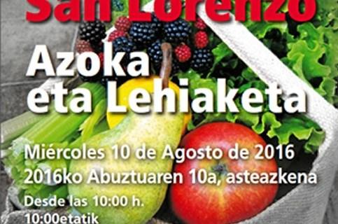 El Mercado de San Lorenzo de Getxo contará este año con 52 productores