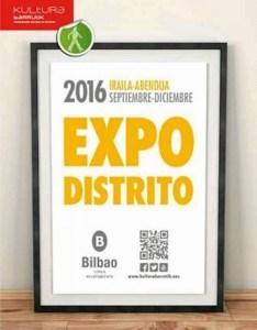 Cartel Expodistrito 2016.