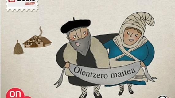 Todo dispuesto para recibir al Olentzero y Domingi