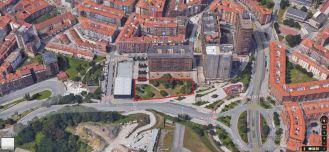 Situación de la parcela. GoogleMaps