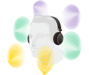 Tecnologia SHS auriculares