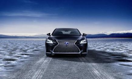 Lexus LS 500 2018 Front