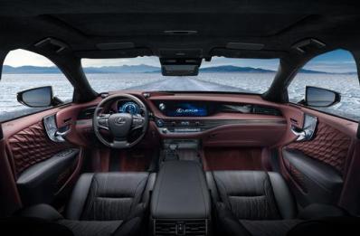 Lexus LS 500 2018 Dashboard
