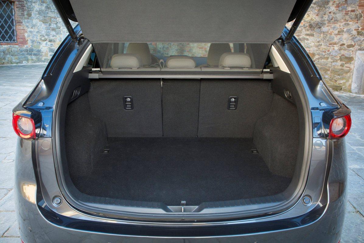 Mazda CX-5 Bagagerum