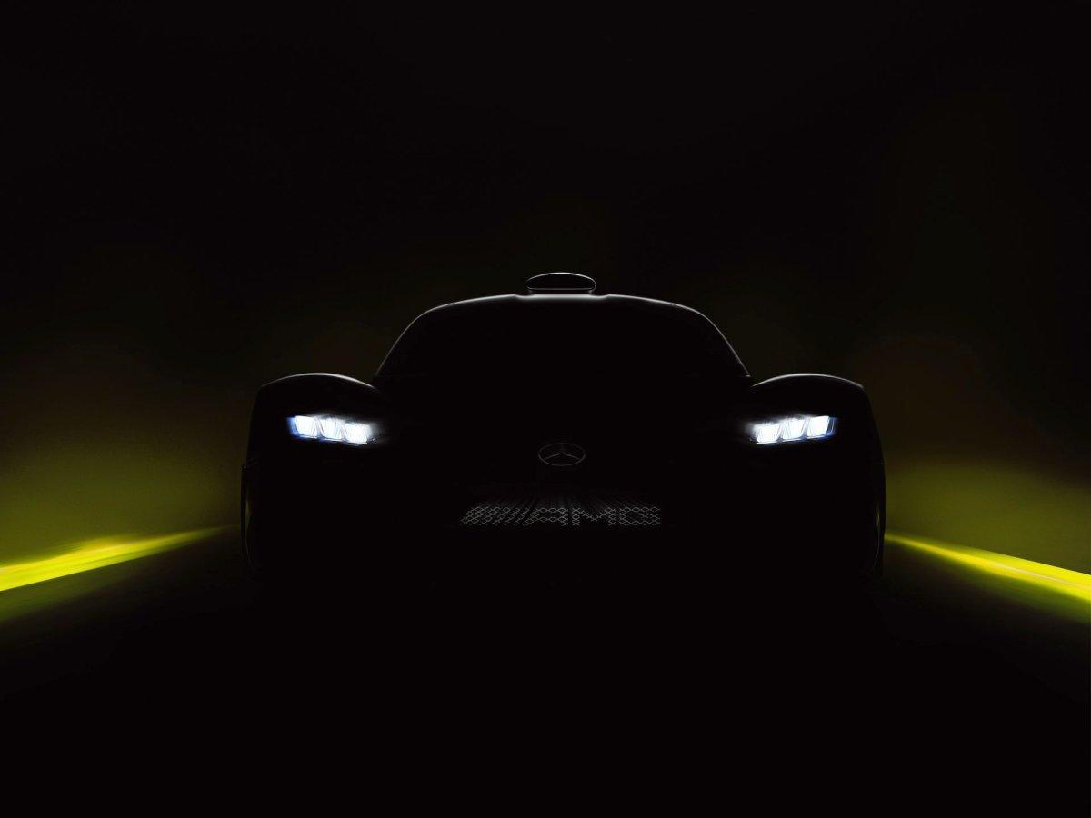 Weltpremiere Mercedes-AMG Project ONE: Mercedes-AMG bringt Formel-1-Technologie für die Straße