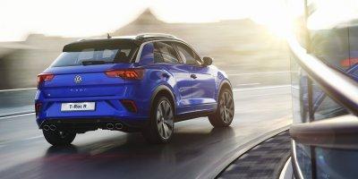 Volkswagen T-Roc R i bevægelse