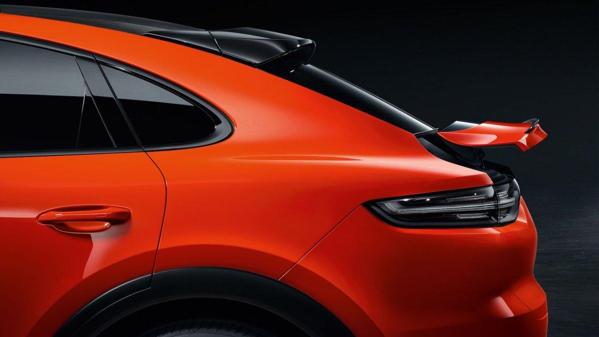 Porsche Cayenne Coupé spoiler
