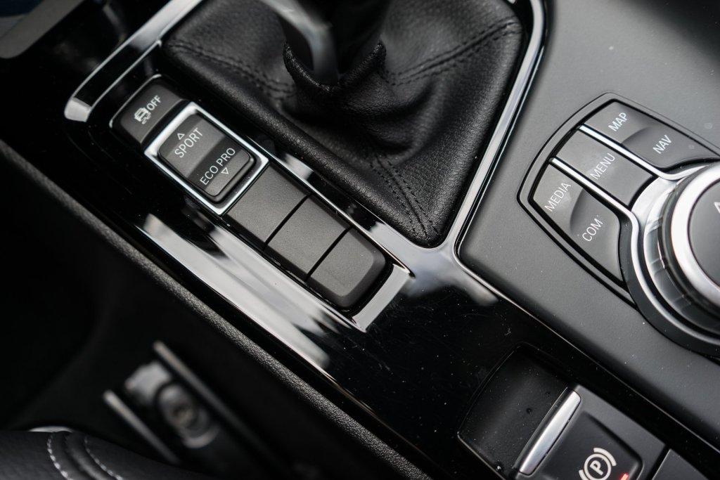 BMW X1 drive modes